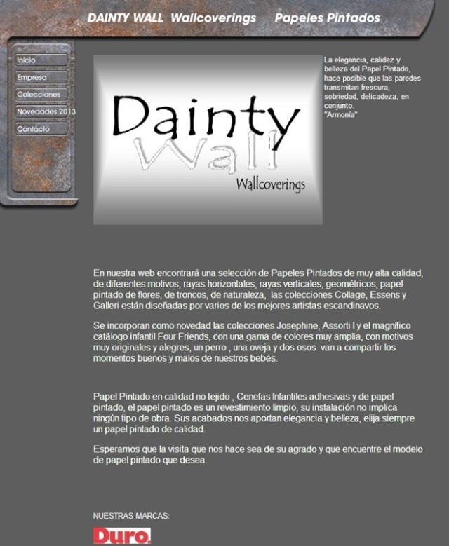 Papeles Pintados Daintywall